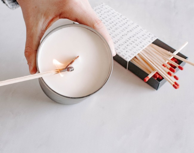 can you use toothpick as a candle wick